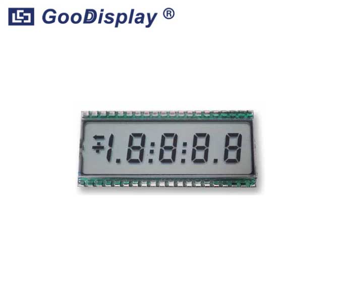 4-1/2 Digits LCD Panel, EDS808