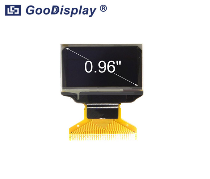 0.96 inch OLED Graphic Display Panel, GDO0096B