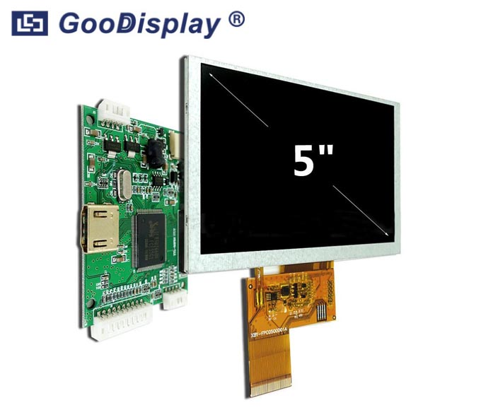 5.0 inch TFT LCD Display HDMI for Raspberry Pi GDTE050A1-4
