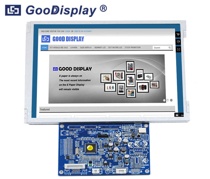 Large size 10.4 inch VGA Video input TFT LCD Monitor, GDN-D102AT-GTT104SDH01
