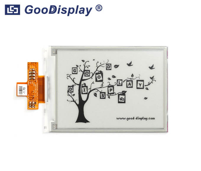 4.3 inch e-paper display parallel interface 800x600 resolution, GDE043A2
