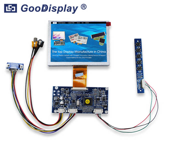5.0 inch TFT LCD Display Module, Video VGA, GDN-D567AT-GTI050NA-08C