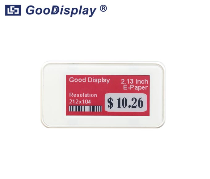 2.13 inch electronic shelf label ESL Tag For retail, conference and industrial tag IL0213E