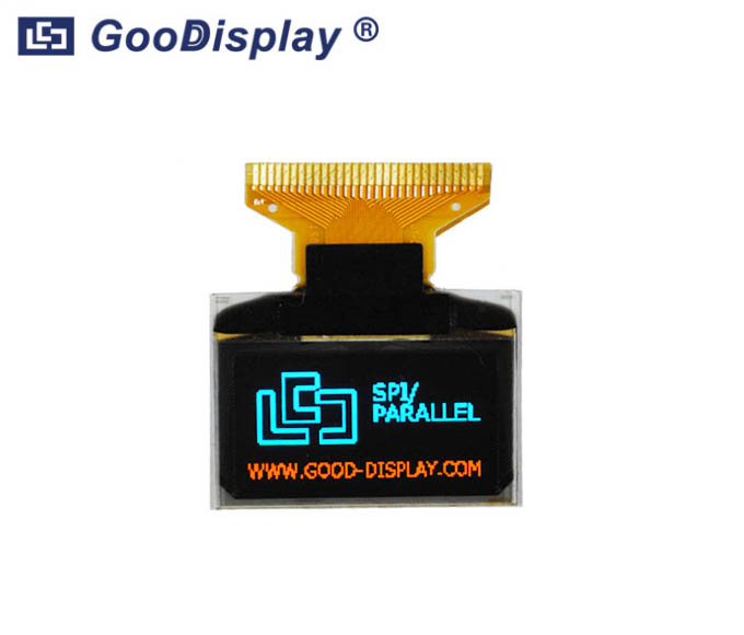 0.96 inch 128x64 OLED Display Module/ Blue and Yellow, GDO0096YB