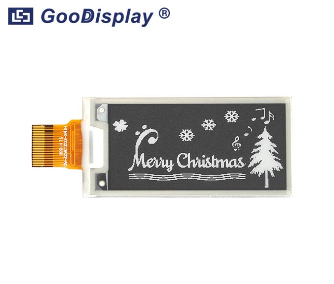 2.13 inch e-ink screen panel partial refresh, GDEH0213B72