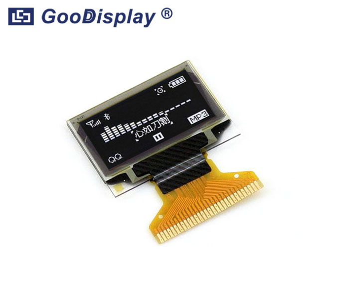 0.96 inch OLED display panel wide temperature, GDON0096PGW