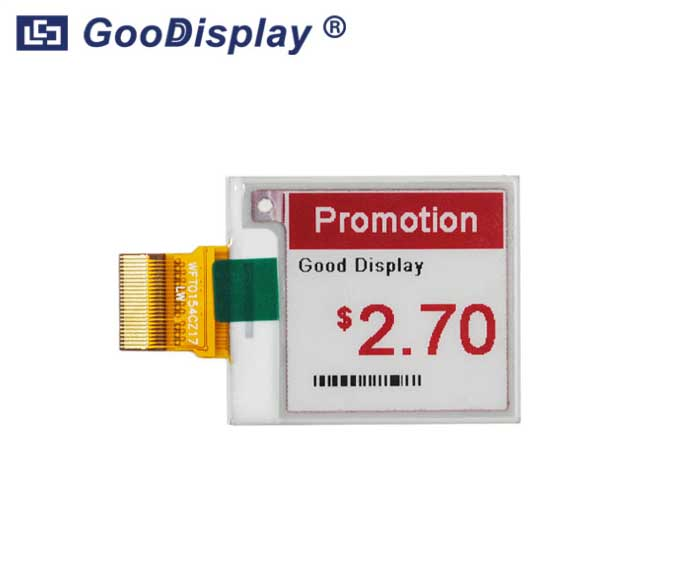 1.54 inch color e-paper display module, GDEW0154Z17