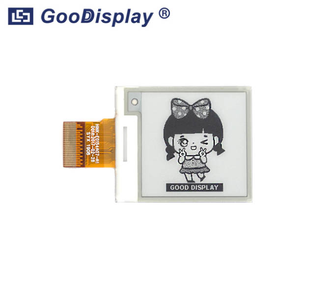 1.54 inch e-paper display module partial refresh E-ink screen panel, GDEH0154D67