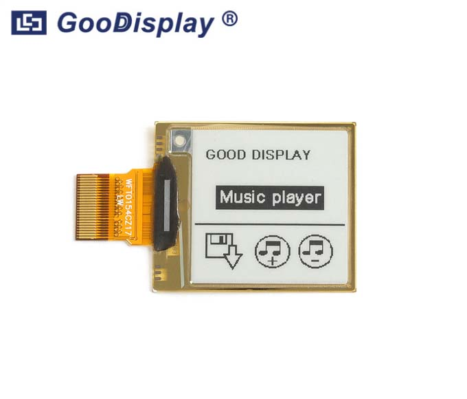 1.54 inch flexible partial refresh eink display panel 4 Grayscale, GDEW0154I9F